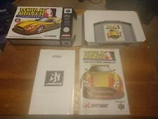 World Driver Championship Nintendo 64 Pal Complete With Manual