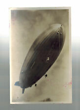 Germany Hindenburg Zeppelin real picture postcard Cover LZ 129 DZ Factory Cancel