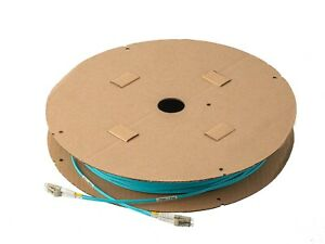 500 Feet (152.40M) 10G Multimode OM3 Duplex LC to LC Fiber Optic Patch Cable