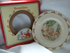 "Bunnykins Royal Doulton Australiana 8""tableware bone china plate new"