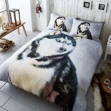 Linge de lit et ensembles gris avec des motifs Graphique pour chambre
