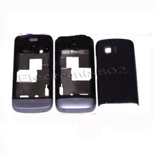 Fascia Housing Back Battery Cover Keypad For Nokia C5 03 C5-03 Lilac / Black UK