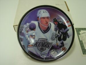 Heros on Ice The Great Gretzky Bradford Exchange limited edition collector plate