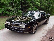 1977 Pontiac FIREBIRD TRANS AM, Black/Gold, Refrigerator Magnet, 40 MIL