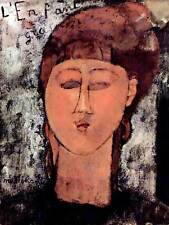 AMEDEO MODIGLIANI ENFANT GRAS OLD MASTER ART PAINTING PRINT POSTER 143OMB