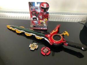 Power Ranger Ninja Steel Deluxe Electronic Chain Sword with extras nice toy