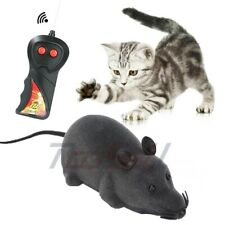 New listing New Remote Control Rc Rat Mouse Wireless For Cat Dog Pet Toy Novelty Gift Funny