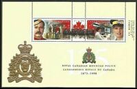 Canada 1737b RCMP Police Horse Helicopter souvenir sheet MNH **