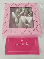 Vera Bradley Mary Jane Shoes Lilli Bell Pattern 100% Cotton New in box!