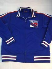 New York Rangers Jacket Men's L Mitchell & Ness NHL Hockey