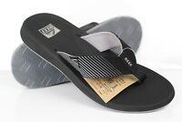 Reef Men's Phantom II Flip Flop Sandals Lightweight Black Gray