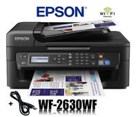 EPSON WorkForce WF-2630WF 4-in-1 MULTIFUNKTIONS DRUCKER WIFI WLAN * NEU *