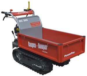 PowerPac RC360 - RUBBER TRACK CARRIER MICRO DUMPER DIGGER MUCK TRUCK 2019