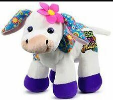 Ganz Webkinz Rockerz Cow 8.5 inch Stuffed Animal, Sealed code attached, NWT