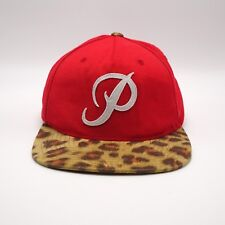 Starter - The Natural - Phillies Snapback hat - Cheetah Leopard print Brim
