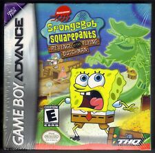 GBA Spongebob Revenge of the Flying Dutchman (2003), New & Factory Sealed