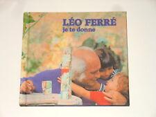 Leo FERRE-CD-je te donne-la mémoire et la mer 10 002