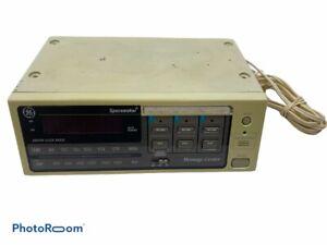 GE General Electric SpaceMaker AM FM Clock Radio Message Center Under Cabinet