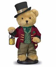 The Danbury Mint Teddy Bear The 2018 Christmas Bear New Free Shipping