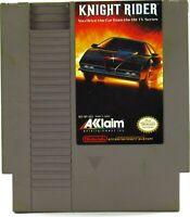 Knight Rider Nintendo 1989 NES Tested