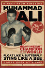 Muhammad Ali Vintage Style Boxing Sports Poster 12x18 inch