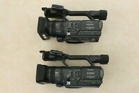 2 Sony HDR-FX1 3CCD HDV 1080i MiniDV Handycams for Parts or Repair