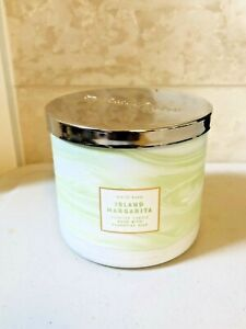 Bath & Body Works ISLAND MARGARITA Candle Large Scented 3 Wick Candle 14.5 oz