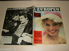 EUROPEO=1959/6=ANNETTE STROYBERG=PIN UP FRANCE=DOMENICO MODUGNO=LEO LONGANESI=