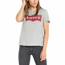 T-shirt The Perfect Large Batwing LEVI'S Grey Women 17369-0263