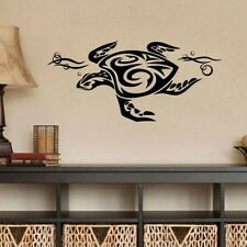 Tribal Sea Turtle Wall Decal Ocean Museum Wall Decor Kid Room Wall Decoration