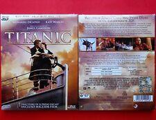 film 2 blu ray disc 3D 2D titanic leonardo di caprio kate winslet james cameron