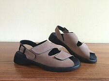 WOLKY Women's 36/6 Tan Leather Comfort Sandals-Mint!