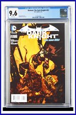 Batman The Dark Knight #25 CGC Graded 9.6 DC January 2014 White Pages Comic Book