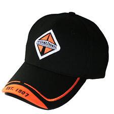 """International Trucks """"Est. 1907"""" Orange & Black Medium Twill Structured Cap/Hat"""
