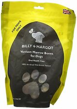 BILLY & MARGOT Cervo midollo osseo croccantini per cani 300g