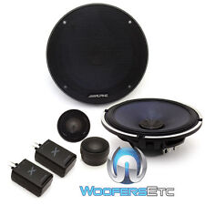 "ALPINE X-S65C 6.5"" 360W CAR AUDIO TYPE-X COMPONENT SPEAKERS CROSSOVERS TWEETERS"