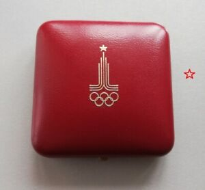 Original Moscow-80 Olympic Games Participant's Medal Author's Signature