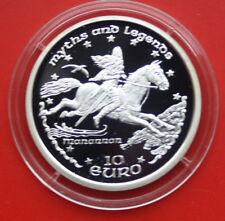 """Isle of Man: 10 euros Argent 1998, """"Keltic Prince Maclir"""", #f 1989, PP-PROOF"""