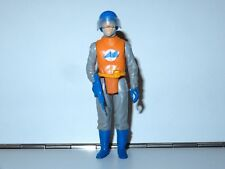 1983 GI JOE / ACTION FORCE SPACE FORCE PILOT 100% COMPLETE w/ VISOR C9+ PALITOY