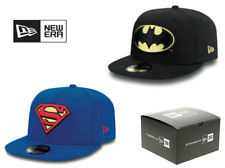 NEW ERA 59FIFTY SUPER HERO CAP. BATMAN and SUPERMAN. (FREE BOX)