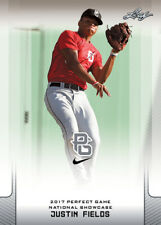 10-Ct Lot Justin Fields 2017 Leaf Perfect Game NIKE All-American Rookies OHIO ST