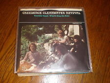 Creedence Clearwater Revival 45/PICTURE SLEEVE Travelin' Band FANTASY
