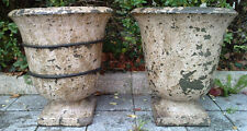 2 ancienne vasques style medicis TERRE CUITE  anduze provencale ? basin antique