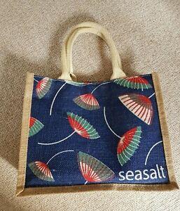 Seasalt Cornwall  Jute Cute  Small Tote Bag New