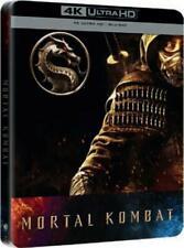 MORTAL KOMBAT  STEELBOOK   4K ULTRA HD + BLU RAY