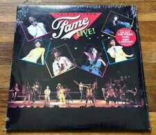 The Kids from FAME Live! RARE Out of Print vinyl LP record '83 (SEALED)