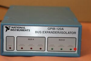 NATIONAL INSTRUMENTS GPIB-120A BUS EXPANDER/ ISOLATOR Power Cord Included