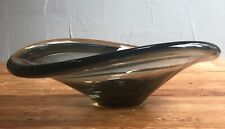 Gray Glass Per Lutken Holmegaard Bowl Modernist MCM