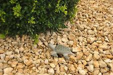 Süße SCHILDKRÖTE Granit Stein-Figur Dekoration f. Haus Terrasse Garten Feng Shui