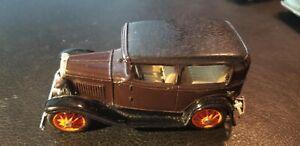 Brooklin Models No. 5  1930 Ford Model A Tudor - Dark Brown 1/43 Scale